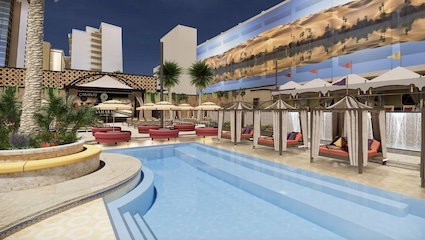 Sahara Las Vegas unveils new Ultra Pool